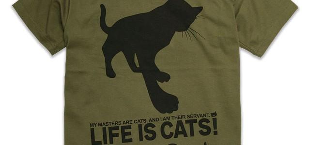 猫好きによる猫好きのためのTシャツ